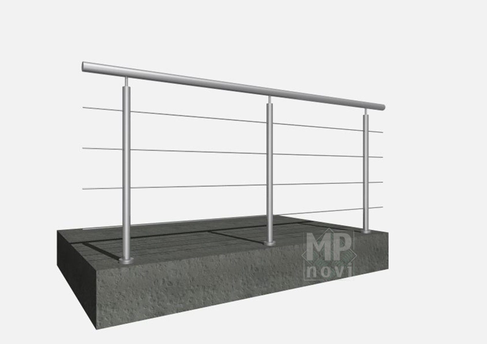 Standardowe balustrady 110