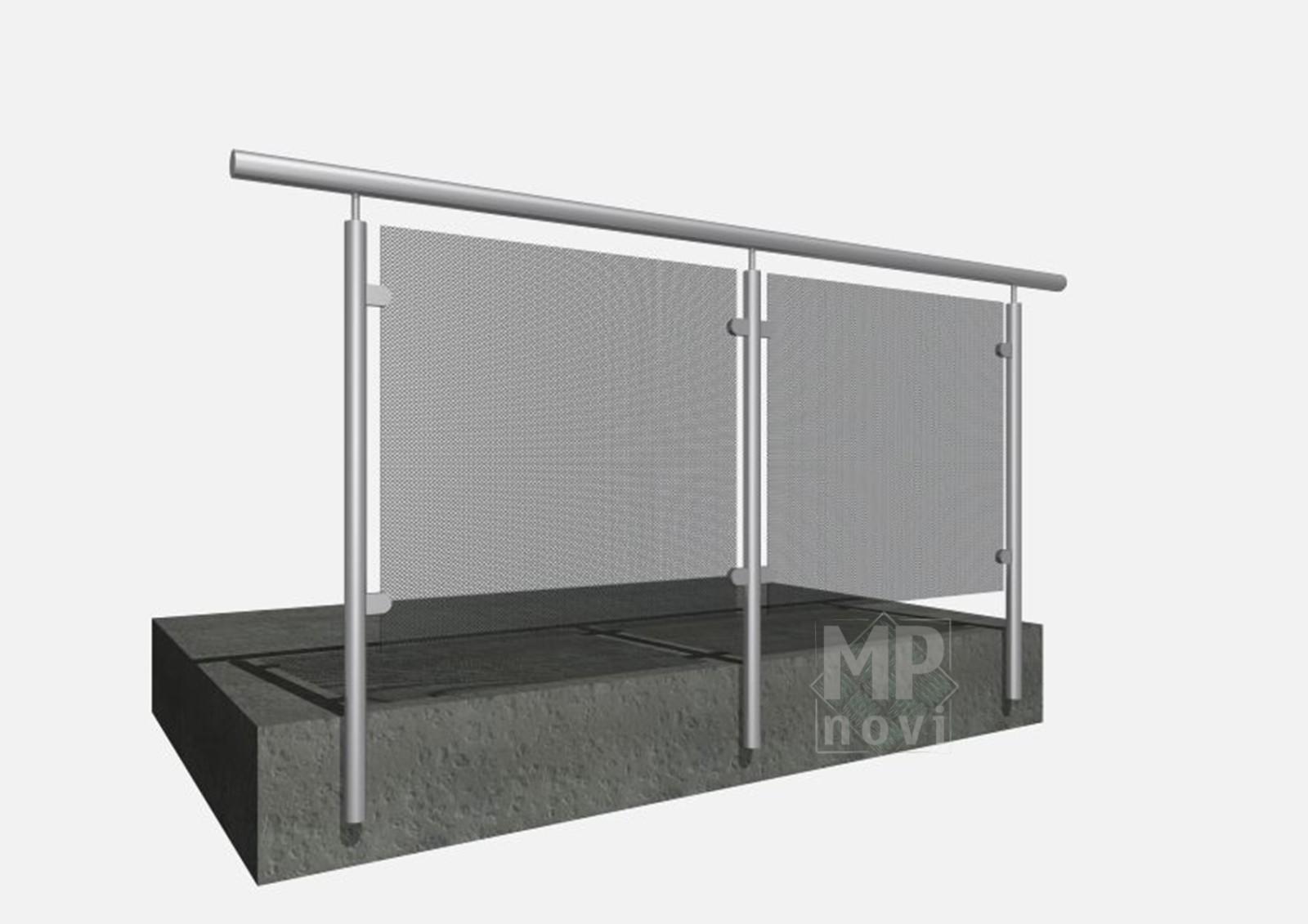 Standardowe balustrady 131