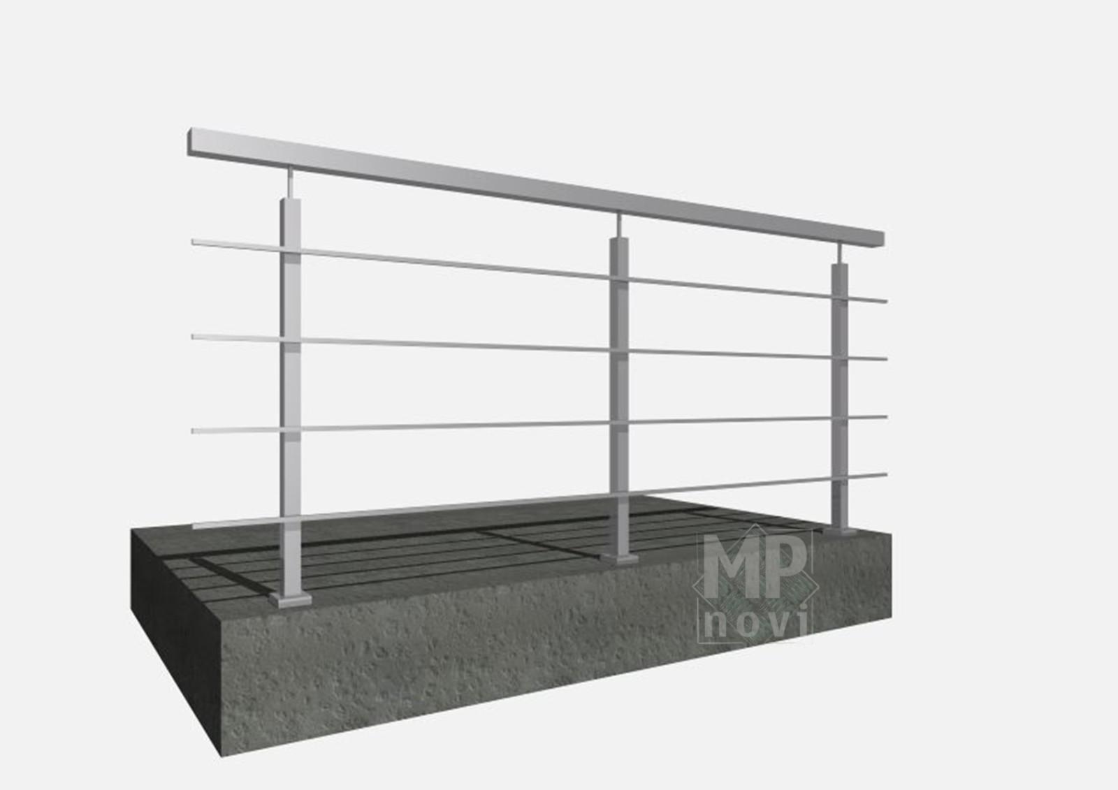 Standardowe balustrady 200