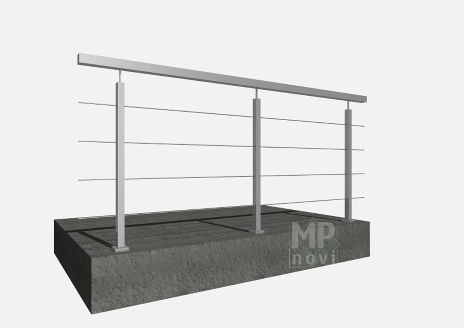 Standardowe balustrady 210