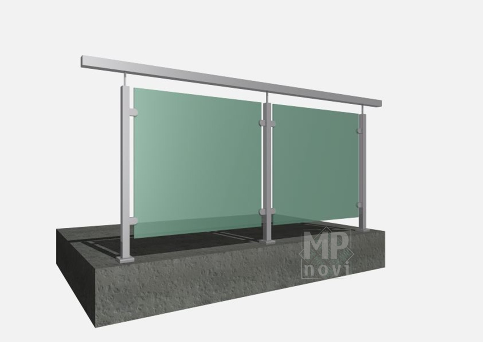 Standardowe balustrady 220