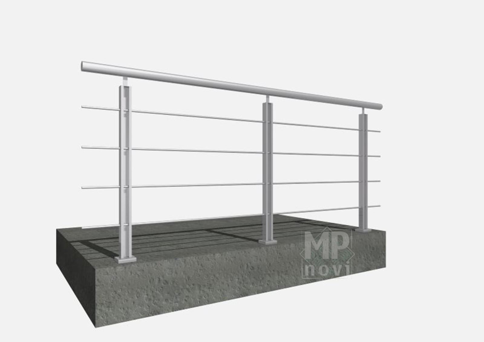 Standardowe balustrady 400