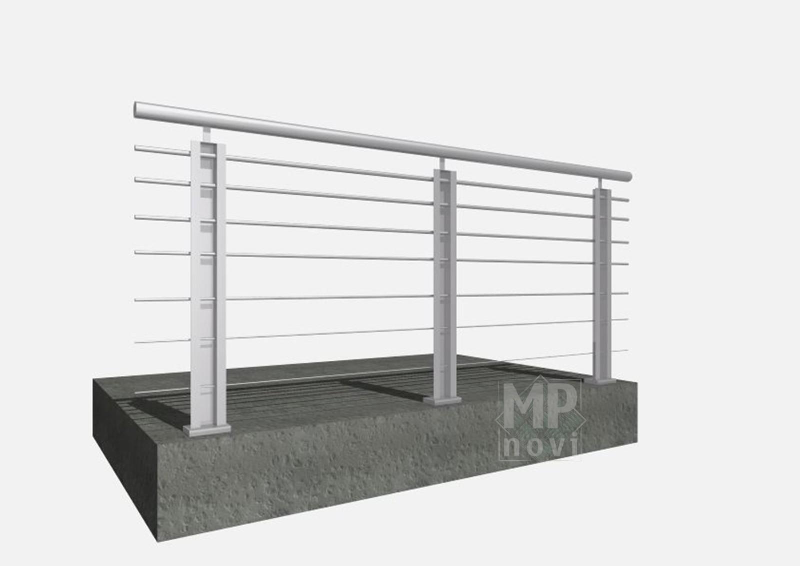 Standardowe balustrady 410