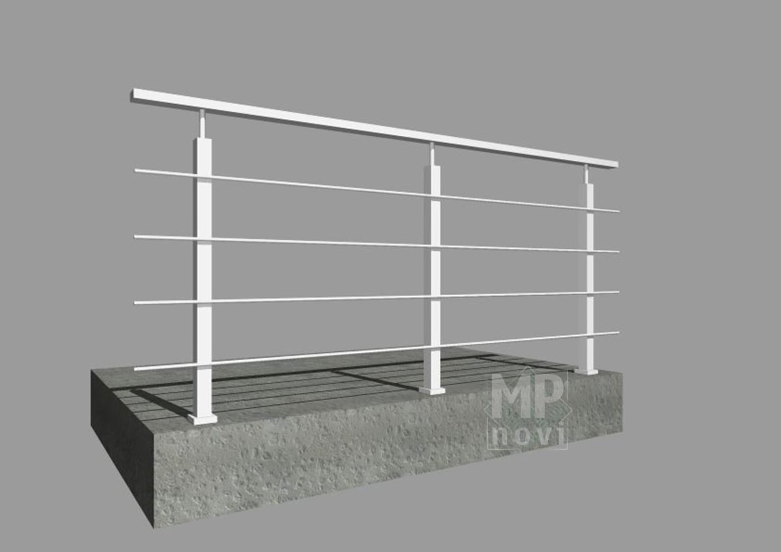 Standardowe balustrady 500