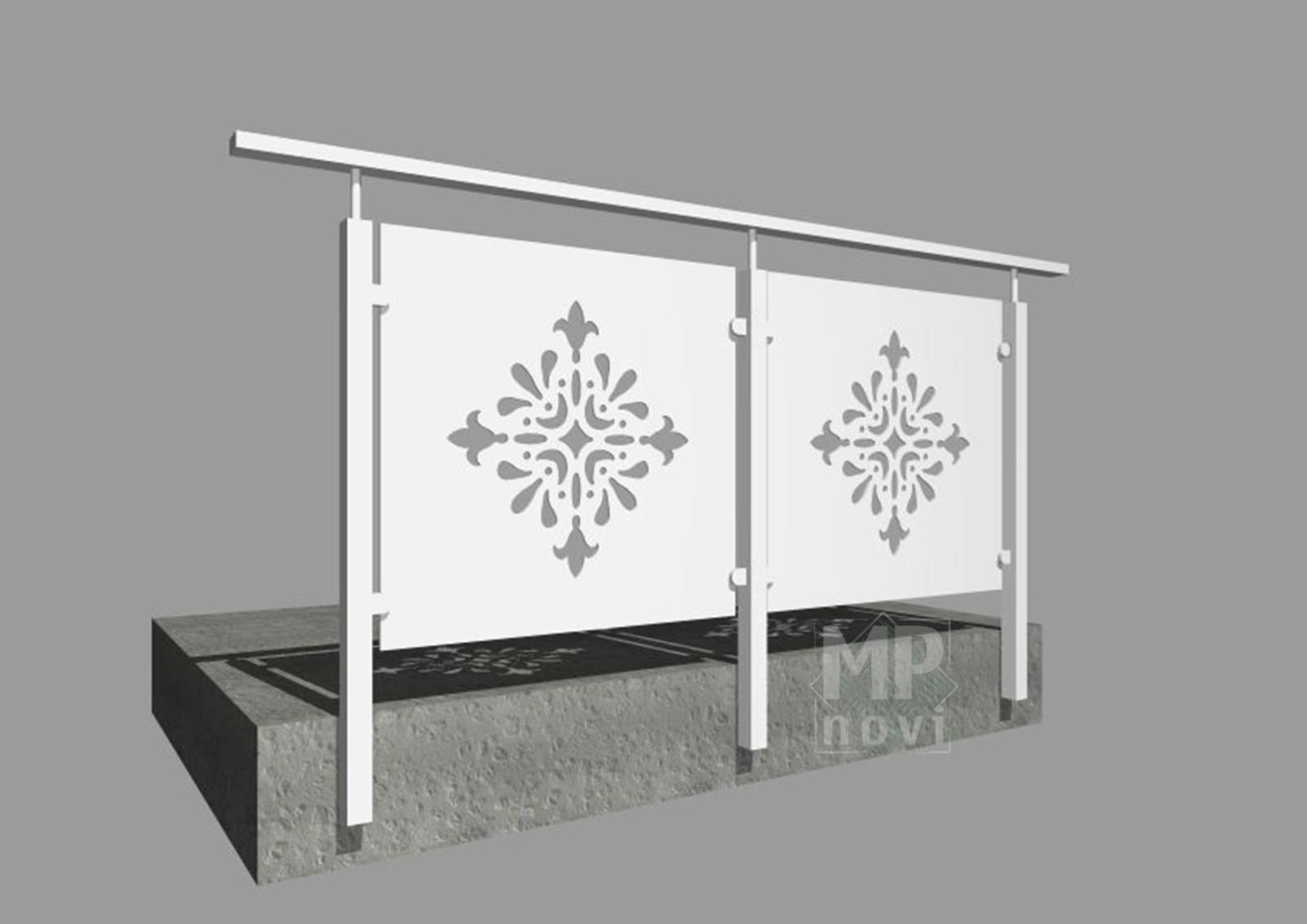 Standardowe balustrady 511