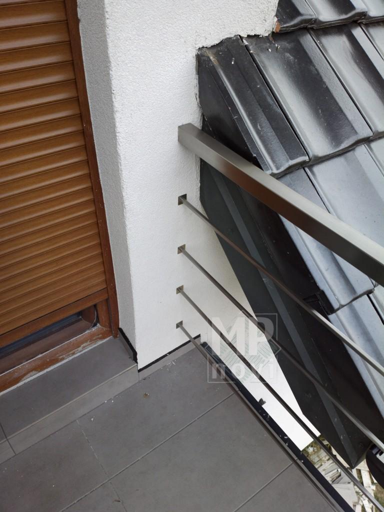 Balustrada nierdzewna - balkonowa