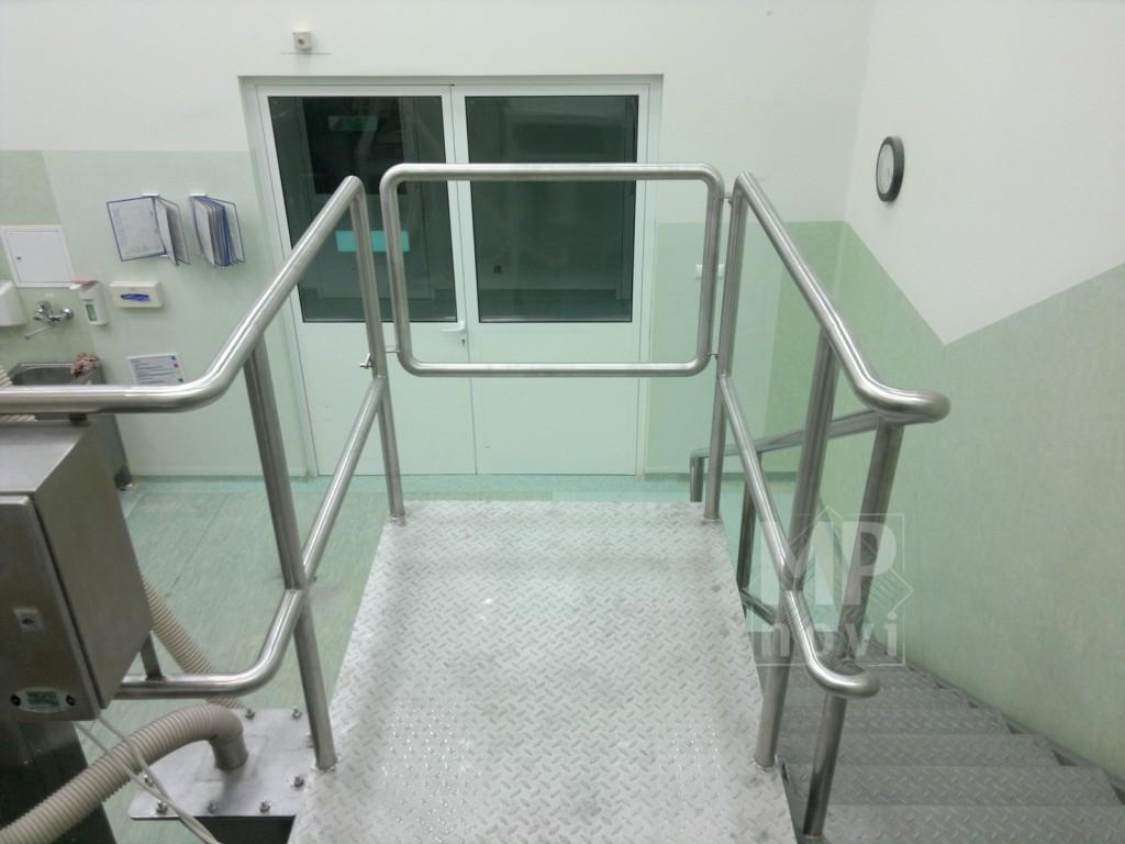 Balustrada nierdzewna - przemysłowa