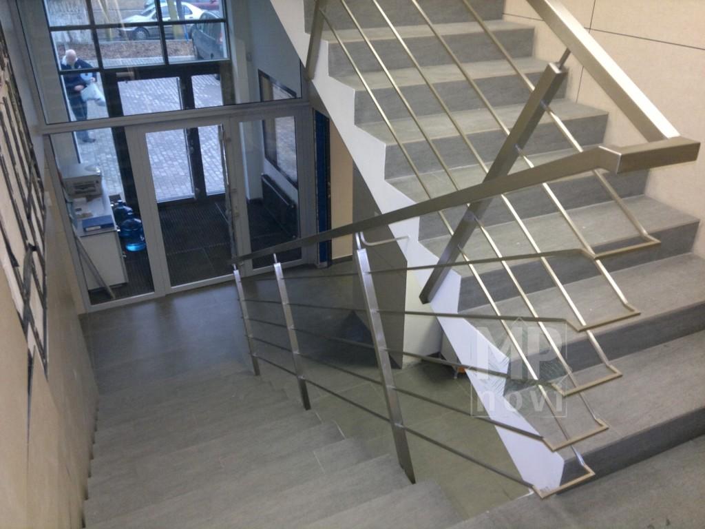 Balustrada nierdzewna - schodowa