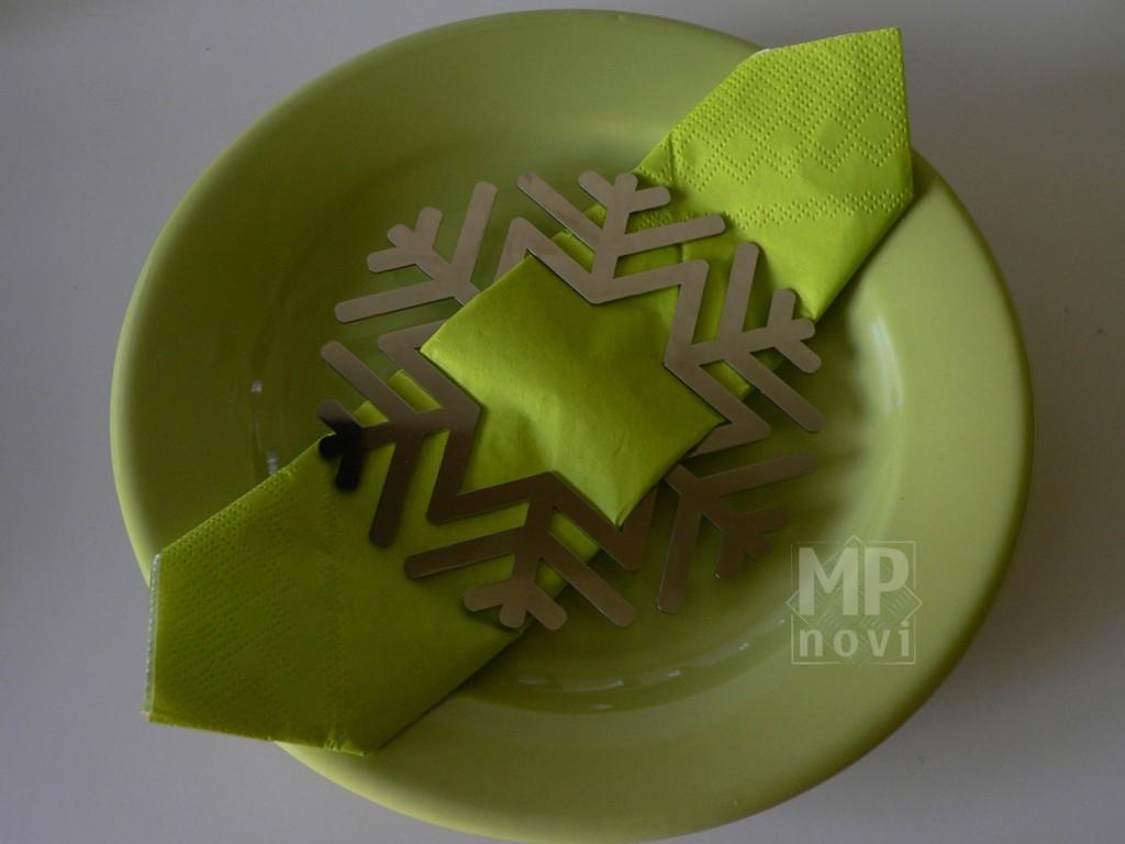 Wyposażenie wnętrz - Pierścienie na serwetki